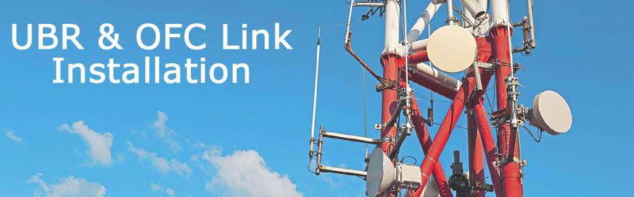 UBR Installation OFC Link